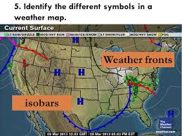 weather fronts map weather maps eric angat 1 get your notebook and