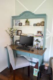 Blue Bookcases Home Office Home Office Makeover Modern Desc Drafting Chair