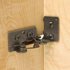 what size screws for kitchen cabinet door hinges snap closing semi concealed hinges for 1 4 overlay doors 5