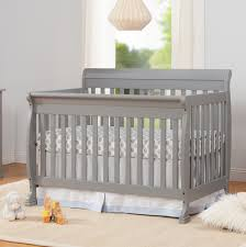 sorelle berkley 4in1 convertible crib and changer grey poussette