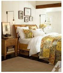 Ashby Bedroom Furniture Pottery Barn Ashby Sleigh Bed Dresser Rustic Pine Finish
