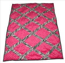 Pink Zebra Crib Bedding Baby Boutique Pink Zebra 13 Pcs Crib Bedding Set Ebay