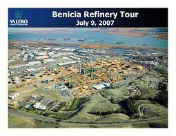 valero energy benicia refinery tour u2013 july 9 2007