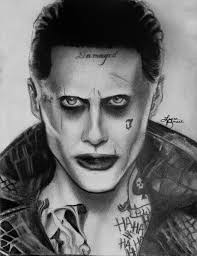 jared leto joker by laurabonacci on deviantart