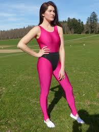 lycra fitness pink style pinterest unitards zentai suit and