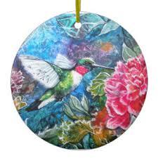 hummingbird ornaments keepsake ornaments zazzle