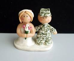 wedding toppers a military wedding complete with military wedding