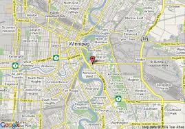 winnipeg map map of norwood hotel winnipeg