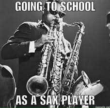 Saxophone Meme - jazz memes on twitter oh so you play alto sax well here is a