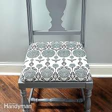 How To Cover Dining Room Chairs With Fabric How To Cover A Dining Room Chair Seat Seat Covers For Dining