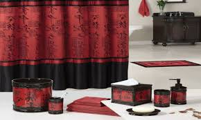 Red And Grey Bathroom by Red Accessories For Bedroom Plush Design Ideas Red And Black