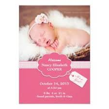 announcement cards just had you newborn baby girl and looking for announcement cards