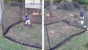 Backyard Batting Cages Reviews Xtender Batting Cage Backyard Portable Batting Cage