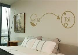 stickers chambre parentale stickers muraux chambre tête de lit toi et moi suite parentale