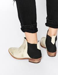 womens wide ankle boots canada image 1 of free white flat ankle boots up