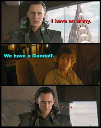 The Hobbit Meme - the huh the hobbit we have a gandalf meme and a reading response
