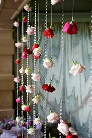 Wedding Backdrop Trends Hanging Wedding Flower Curtains Backdrops See More About Flower