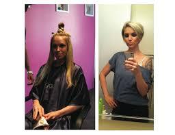 Bilder Zu Kurzhaarfrisuren by Langen Zu Kurzen Haaren 10 Bilder Vorher Nachher Frisuren