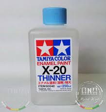 Tamiya Model Spray Paint Tamiya Models X 20 Enamel Paint Thinner 250ml