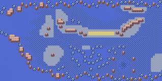 Hoenn Map Route 134 Nintendo Fandom Powered By Wikia