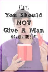 the 7 gifts you should never buy a man for valentines day moms