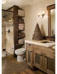 Rustic Bathroom With Stand Up Shower Garage Updates Pinterest