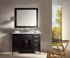 ariel kensington 49 single sink vanity set in espresso ariel bath