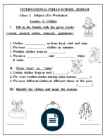 worksheets for class 1 worksheets class 1