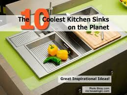Cool Kitchen Sinks 10 Coolest Kitchen Sinks On The Planet
