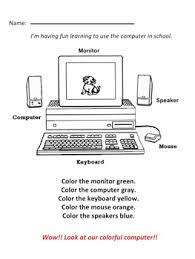 Computer Lesson Worksheets Computer Technology Lessons With Three Worksheets For Grade 2 Tpt