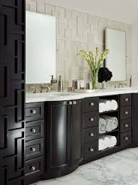 Dark Bathroom Vanity by Wall Decor Awesome Walker Zanger Tile With Wall Sconces And