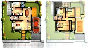 modern 2 house plans modern 2 storey house modern 2 storey house plans with garage