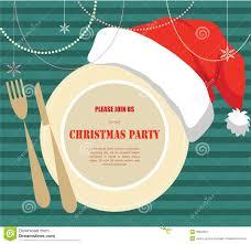 christmas party invitation stock illustration image 38923661