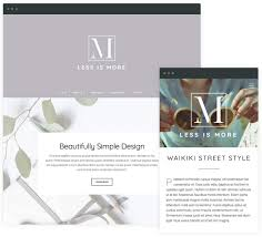 min theme a new minimal theme from organic themes