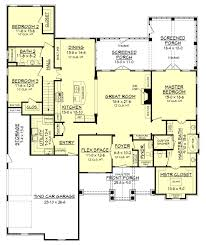 craftsman style house plan 3 beds 2 50 baths 2597 sq ft plan