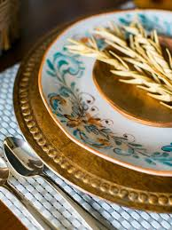 Fall Table Settings by Vintage Decor Ideas For Your Thanksgiving Table Hgtv U0027s