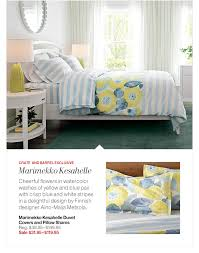 Crate And Barrel Marimekko Duvet Crate And Barrel Stay In Bed And Save Milled