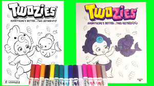 twozies coloring pages rare finley finz two gether fun kids