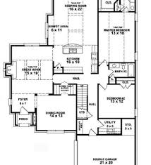 country floor plans country house plans with in suite plan 5445
