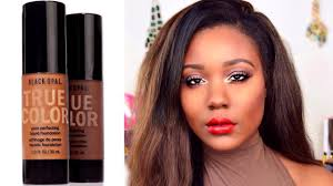 new drugstore oily skin foundation black opal foundation review