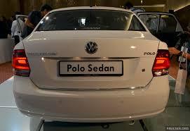 polo volkswagen sedan 2014 volkswagen polo sedan ckd launched u2013 rm86k image 207432