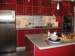kitchen dazzling red kitchen on kitchen drawers kitchen paint