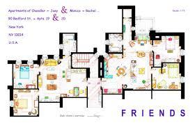 Apartment Complex Floor Plans Friends Apartment U0027s Floorplans Version 2 This Handmade
