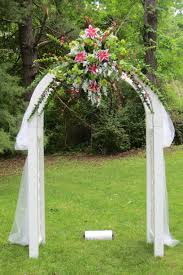 wedding arches decorated with flowers wedding ideas flower arches forgs easy flowersg arch of