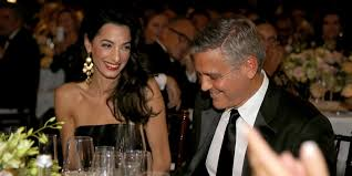 george clooney declares his love for amal alamuddin huffpost