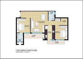 floor plan of the secret annex omaxe aananda apartment in allahabad