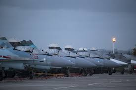 putin s plane moscow says russian warplanes have started to leave syria la times