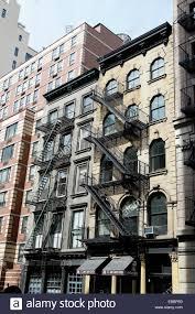 Tribeca Apartment Close Up Of Apartment Buildings Duane Street Tribeca Manhattan
