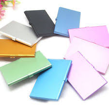 Pocket Business Card Holder Metal Unbranded Aluminum Business U0026 Credit Card Cases For Men Ebay