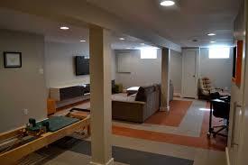 Carpet Tiles For Basement - flooring ideas brown carpet tiles with border in basement set